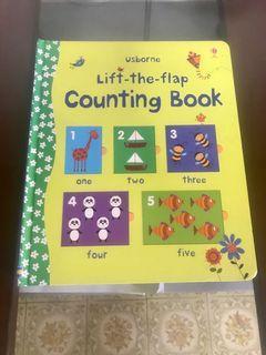 Lift-The-Flap Counting Book 翻翻書 遊戲書 幼兒認知 8成新