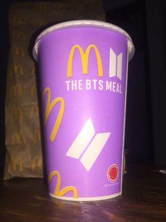 MCD X BTS MEALS PAPERBAG