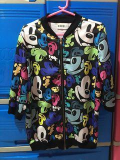 Mickey Y2k Bomber Jacket