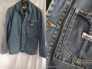 貓小姐-男裝M#Lee牛仔外套 工裝版型 保存不錯#找貨碼32