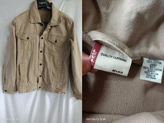 貓小姐-男裝M#Levis越南製 內刷毛外套 卡其 保存不錯 修身版型#找貨碼