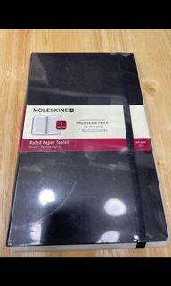 Moleskin papertablet p+ ruled -bk hard 01  (💯%全新原廠貨New original)