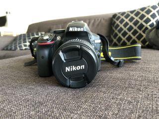 NIKON D5300 DSLR camera with accessories