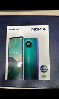 Nokia 3.4 TA1283 charcoal  (💯%全新原廠貨New original)