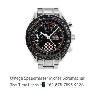 Omega Speedmaster Reduce Day Date 'Michael Schumacher World Champion 2002' Chronograph 39m