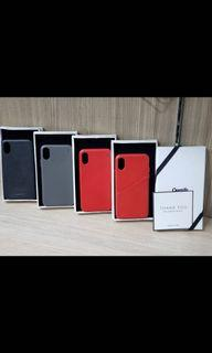 原裝original Casetify leather case (Andersson) iphone X case  (💯%全新原廠New original)