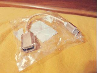 OTG轉接線鍵盤轉接 Micro USB安卓金色