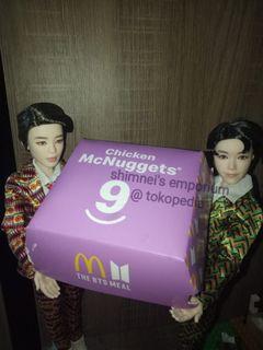 Packaging  BTS Meal MCD (Kemasan Nugget)