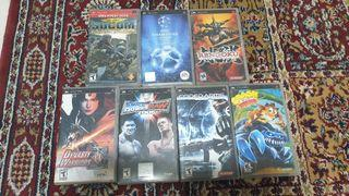 Portable Sony Playstation Psp Games