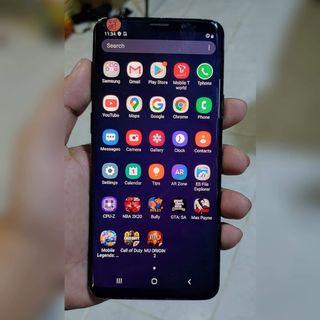 Samsung S9 Midnight Black 64GB 4GB LTE SM-G965n Openline