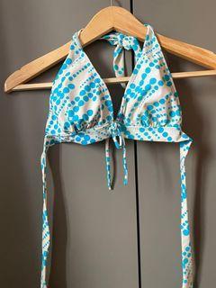Satu set bikini biru