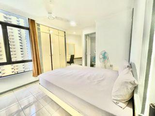 💰Save your money with ZERO Deposit🤝🏻 & Fully Furnished Master Room 😎 At PWTC area, Near To Train🚉 & Mall 🛒!!!