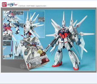 SEED GUNDAM 初回限定版 連地台 Bandai 全新未砌 1/100 傳說高達 Seed Legend Gundam 高達模型 7