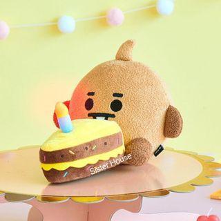 🇰🇷 BT21 Shooky Baby Lighting Cake Doll 亮燈生日蛋糕公仔