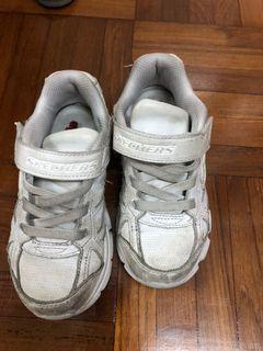 平售Skechers 返學白鞋 運動鞋