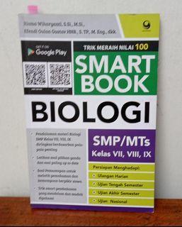 SMART BOOK BIOLOGI SMP/MTS kls VII, VIII, IX