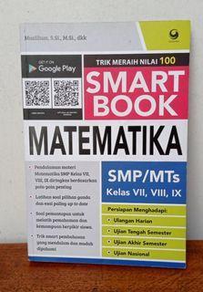 SMART BOOK MATEMATIKA SMP/MTS kls VII, VIII, IX