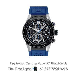 Tag Heuer Carrera Heuer 01 Blue Hands