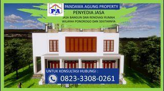 TERFAVORIT  | 0823-3308-0261 | Jasa Desain Rumah Terdekat di Ponorogo, PANDAWA AGUNG PROPERTY