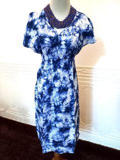 TIEDYE BLUE DRESS