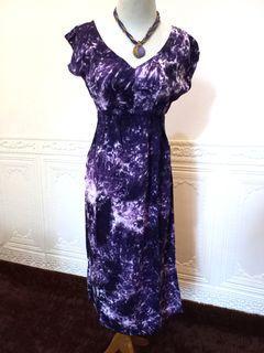 TIEDYE PURPLE DRESS
