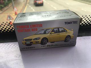 急放Tomica Limited Vintage Neo TLV LV-N232b 豐田 Toyota altezza