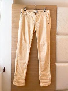 Tommy HILFIGER DENIM正品低腰棉質窄管褲/二手保存良好