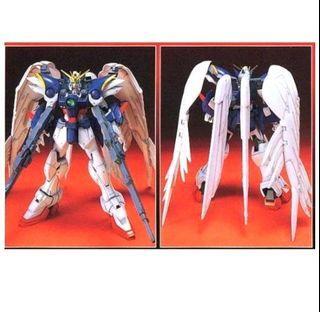 WING GUNDAM 全新未砌 Bandai HG 1比100 飛翼高達零式 Wing Gundam Zero Custom 高達模型 9