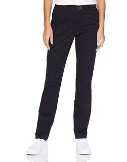 Women's Straight-Fit Stretch Twill Chino Pants (Size 20)