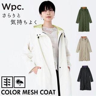 🔥預約產品✨WPC 時尚撥水長型風褸式雨褸外套🧥附專用收納袋