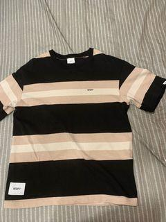 WTAPS 20SS VATOS SS / TEE. COTTON 短袖 短t 上衣 t恤 條紋