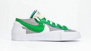 WTB 徴收 Nike x blazer low green