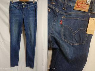 貓小姐-女裝26腰#Levis窄版彈性牛仔褲 看細圖不影響穿搭痕跡