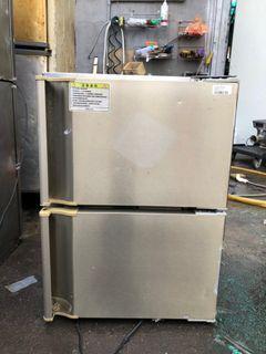 二門全冷凍桌上(下)型小冰箱 110V 已清潔保養 🏳️🌈萬能中古倉🏳️🌈