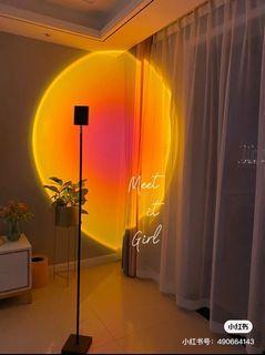 我把日落帶回家🌄🌅氛圍感日落燈♡ 120cm