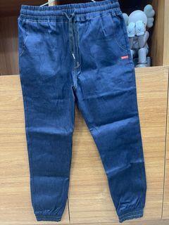 韓版時尚束口牛仔褲
