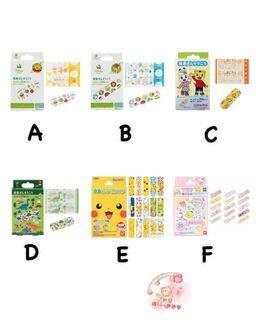🇯🇵日本製兒童卡通防水膠布🩹