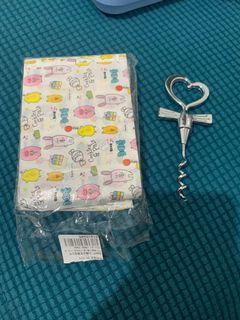 牛軋糖包裝紙 動物糖果紙 400 多張  贈送 心型開瓶器一個