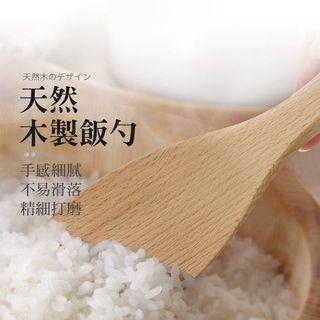 天然木製飯勺 日式木質飯勺 木飯匙 飯勺 飯匙 日式原木飯匙 原木飯勺 盛飯匙 原木餐具 木製餐具