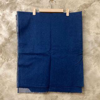 布料-原色彈性薄牛仔布 可做legging 窄管褲 放置有線狀褪色 不介意再下單 2碼多
