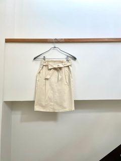 女神日常的綁帶a字裙💗 #618
