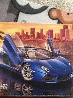 AOSHIMA 1/24 藍寶堅尼 Lamborghini AVENTADOR LP700-4 珍珠白