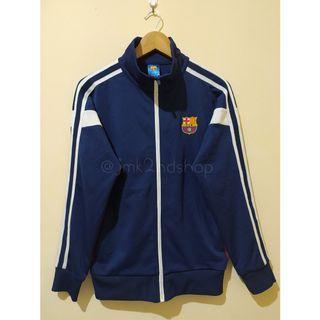 Baca Deskripsi Dulu Kak. Jaket Tracktop / Sport / Bola / Running / Sepeda FC Barcelona Official Licensed Product (jmk19)