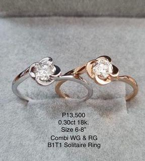 Buy 1 take 1 solitaire ring