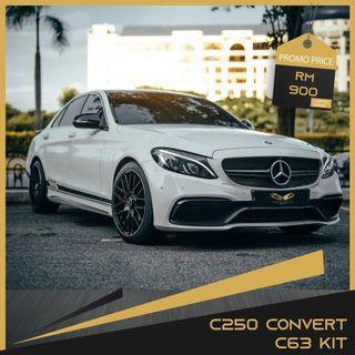 C250 convert C63 kit