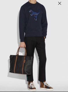 Coach men's tote bag