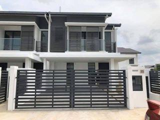 [Corner Extra 30ft] Freehold 24x70 Superlink House Free All Legal Fee, 0% Downpayment, Extra 5ft Backyard
