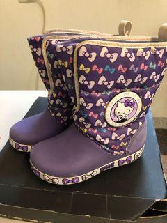 CROCS hellokitty保暖休閒鞋 保暖靴 #東京