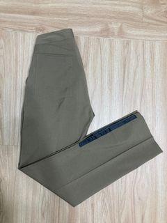 出清!Diesel Style Lab 義大利棕色羊毛特別款長褲 W26~28