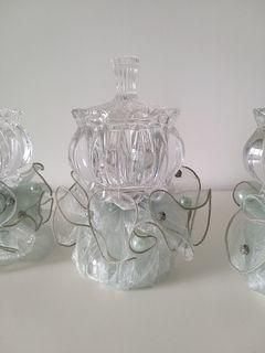 Free gift - Crystal Degaussing Glass Bowl with stand